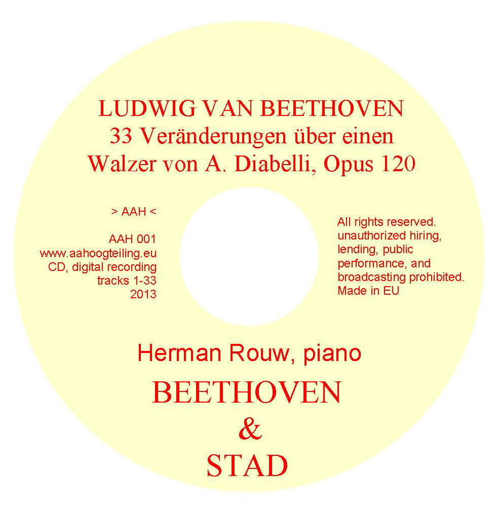 CDlabel BeethovenDiabelli