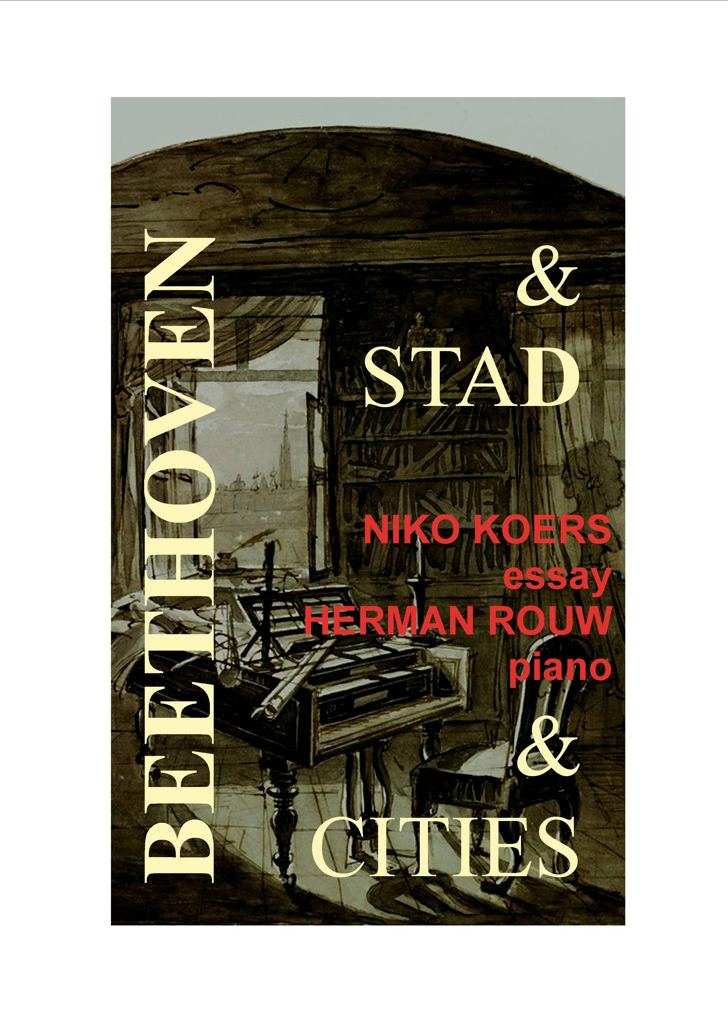 BEETHOVEN & STAD boekomslag